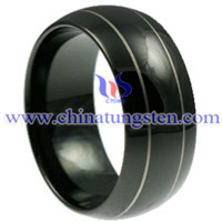 Doomed Tungsten Carbide Ring picture