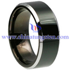 Beveled Tungsten Carbide Ring Picture